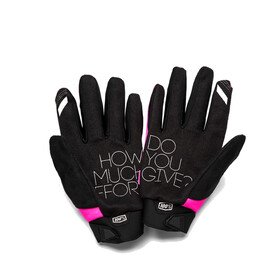 100% Brisker Cold Weather Gloves Damen pink/black